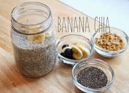 chia seed overnight oats in a jar sweet treats pinterest
