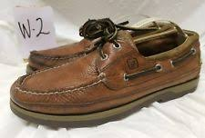 santo triana shoes men s santo triana brown leather shoes tie top comfort 10 1 2m