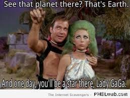 Kirk Meme - 3 captain kirk and lady gaga pmslweb