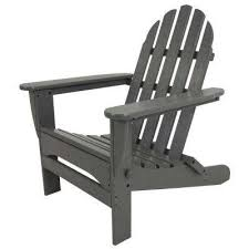 Adirondack Chaise Lounge Adirondack Chairs Patio Chairs The Home Depot