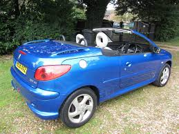 peugeot 206 convertible interior used cars peugeot 206 dorset