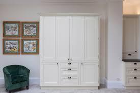 bespoke kitchen larder closed with handmade cabinets kitchen