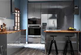 cuisine ikea gris brillant cuisine gris brillant ikea photos de design d intérieur et