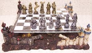 Glass Chess Boards Lionheart Designs International Chess Set Europe Theme Directory