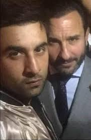 ranbir kapoor hair transplant ranbir kapoor bonds with brother in law saif ali khan over life