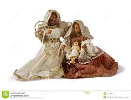 christmas nativity scene holy family stock vector image 58492735