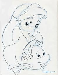 ariel and flounder by anime ray on deviantart