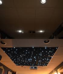 diy star ceiling panels for drop ceiling avs forum home