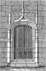 antique gothic door image the graphics fairy antique gothic door image