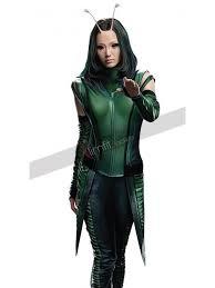 Guardians Galaxy Halloween Costumes Guardians Galaxy Gamora Zoe Saldana Red Jacket