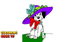 101 dalmatians coloring pages for kids youtube