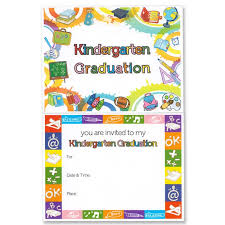 kindergarten graduation cards kindergarten graduation announcement gradshop