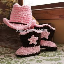 baby girl crochet aliexpress buy free shipping baby girl cow girl hat and