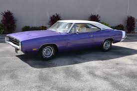 1970 dodge charger used 1970 dodge charger 383 auto plum purple venice fl