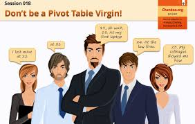 pivot tables for dummies cp018 dont be a pivot table virgin chandoo org learn microsoft