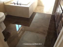 metallic epoxy bathroom floor by texoma concrete effects wichita