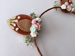 fawn headband fawn ears headband fawn ears woodland от halliebdesigns на etsy