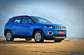 jeep compass limited blue jeep compass review motoroids