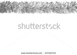white garland silver garland stock images royalty free images vectors