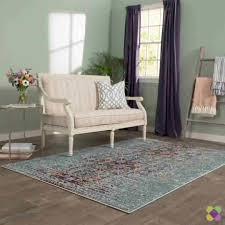 how to pick out an area rug mercury row artemis blue area rug u0026 reviews wayfair