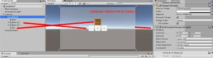 grid layout how to grid layout group not working for 3d cube unity forum