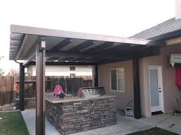 Outdoor Ideas For Backyard Outdoor Backyard Awning Ideas With Wall And Outdoor Kitchen