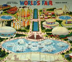 1964 World S Fair Map by Images Of 1964 Worlds Fair Production Sc