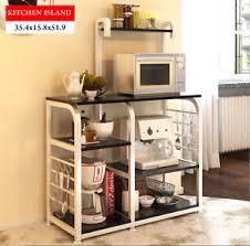 kitchen island shelves kitchen island dining cart baker cabinet basket storage shelves