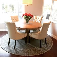 Round Table Rectangular Rug Awesome Round Rugs For Dining Room Gallery Home Design Ideas