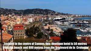 french boutique hotel couleurs du sud cannes youtube