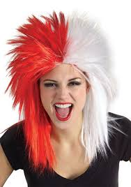 white halloween wigs costumes funny wigs red wigs online