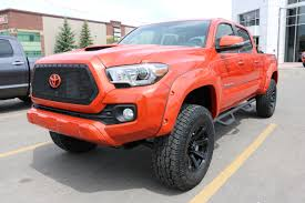 red nissan frontier lifted southpointe custom trucks2016 tacoma inferno lifted double cab