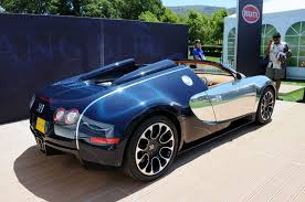 bugatti grand sport sang bleu another special veyron