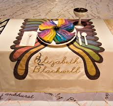 judy chicago dinner table judy chicago s dinner party at the brooklyn museum judy chicago s