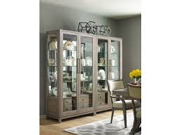 dining room rachael ray home highline bunching display cabinet