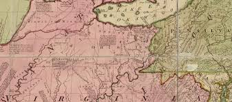 ohio river valley map the and indian war