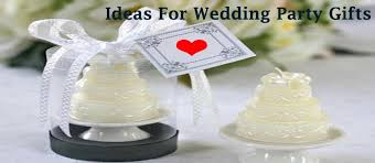 ideas for wedding party gifts wedding latest