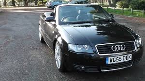 audi a4 convertible s line for sale audi a4 3 0 v6 convertible s line sat nav leather 9 975