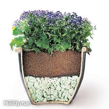 How To Make A Self Watering Planter by Build Self Watering Planters Family Handyman