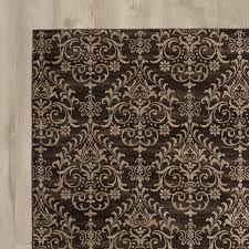 brown and tan area rug dark brown area rug rugs decoration