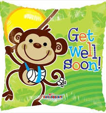 get well soon and balloons feel better soon balloon online melbourne