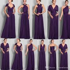plus size purple bridesmaid dresses magic convertible bridesmaids dresses a line floor length