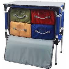 folding table with storage ozark trail folding table with storage walmart com