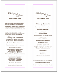 Simple Wedding Ceremony Program Joy U0027s Blog Free Wedding Program Templates Wedding Album Layouts