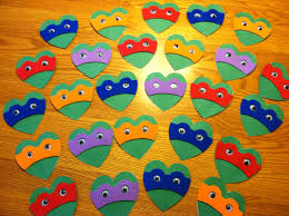 ninja turtle valentines it u0027s for the kids pinterest ninja