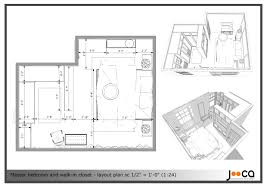 Wardrobe Layout Master Bedroom Walk In Closet Size Memsaheb Net