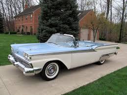 1959 F150 1959 Ford Fairlane 500 Galaxie Sunliner Convertible Light Blue