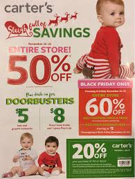 carters thanksgiving s baby kids black friday 2018 sale deals blacker friday