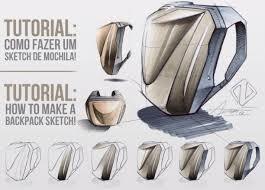 tutorial how to make a backpack sketch como fazer um sketch de