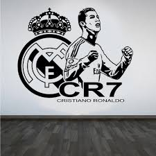 removable vinilos paredes 3d poster soccer star cristiano ronaldo removable vinilos paredes 3d poster soccer star cristiano ronaldo vinyl wall sticker football player wall decals
